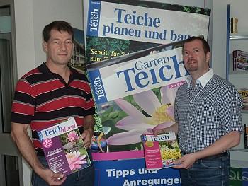 """Gartenteich Magazin – """"Teichreport"""" vereinbart Kooperation"""