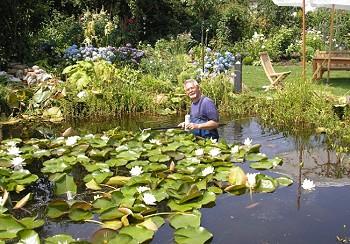 Gartenteich Blog - Teich von Gerhard Glombiewski